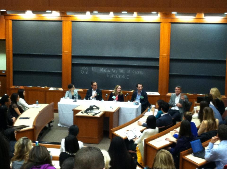 Reimagining the In-Store Experience: One of the panels at the HBS Retail and Luxury Goods Conference